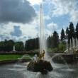 Stock Photo: Warbling fountain in Peterhof