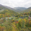 Fall colors in the Smokies - Stock Photo