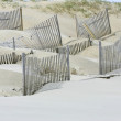 Sand dunes for environment on the beach — Stock Photo