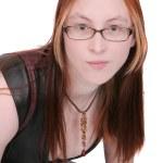 Young woman headshot — Stock Photo