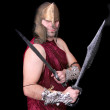 Greek warrior — Stock Photo #2038585