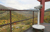 Smoky Mountain lookout — Stock Photo