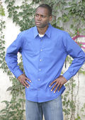 Half length man portrait — Stock Photo