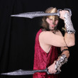 Greek warrior man — Stock Photo #2040269