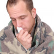 Sick man — Stock Photo