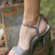 Foto de Stock  : Womans foot