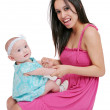 Young mother and daughter — Stock Photo #2042911