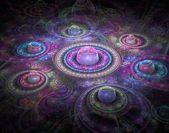 Fraktal kolorowe tło — Zdjęcie stockowe
