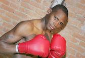 Boxer guy — Stock Photo