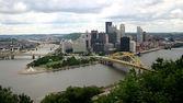 Pittsburgh Skyline — Stock Photo