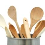Постер, плакат: Wooden utensils