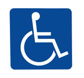 Signe avec handicap — Photo