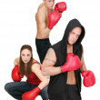 Royalty-Free Stock Photo: 3 boxing