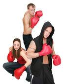 3 boxing — Stock Photo