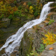 Upstate NY waterfall — Stock Photo