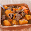 Stock Photo: Homemade beef stew