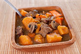 Homemade beef stew — Stock Photo