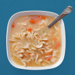 Soup bowl — Stock Photo