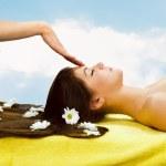 Head massage — Stock Photo #1897796