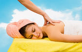Spa Relaxing.Massage — Stock Photo