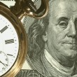 Royalty-Free Stock Photo: Time and Money concept image