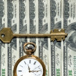 Stock Photo: Time and Money concept image.
