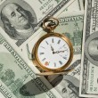 Time and Money concept image. - Stock Photo