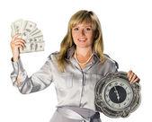 Tid och pengar — Stockfoto