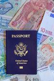 Passaporte pessoal dos Estados Unidos — Fotografia Stock