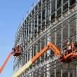 Стоковое фото: Lifts at new construction site