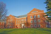在印第安纳大学校园建筑 — 图库照片