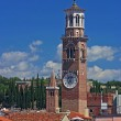Lamberti Tower on the skyline of Verona — Stock Photo #2636179