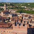 Skyline of Verona, Italy - Stockfoto