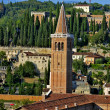 Church of Santa Anastasia in Verona — Stock Photo #2636223