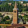 Church of Santa Anastasia in Verona - Stock fotografie