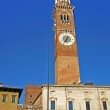 View of the Lamberti Tower in Verona — Stock Photo #2636235
