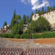 Stock Photo: Amphitheatre of Teatro Romano