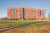 Building on a college campus in Indiana — Foto Stock