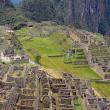 Blick auf die Ruinen von Machu Picchu, peru — Stockfoto