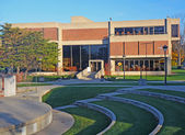 University campus library — Stock Photo
