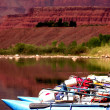 Grand Canyon River Trip - Stock Photo