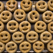Foto Stock: Smiley Potatoes
