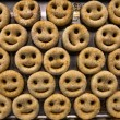 图库照片: Smiley Potatoes