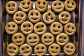 Smiley Potatoes — Stock Photo