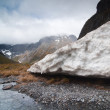 Climate Change Melting glaciers — Photo