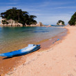 Stock Photo: Kayak, Abel Tasman, New Zealand