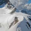 Stock Photo: Top of Jungfrau,Switzerland.