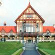 Historic museum in Rotorua - Stock Photo