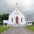 Stock Photo: Small historic church, New Zealand