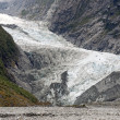 Majestic Franz Joseph glacier in NZ — Stock Photo